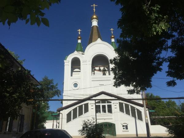 Белый храм в Самаре
