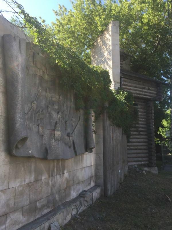 Место закладки крепости Самара