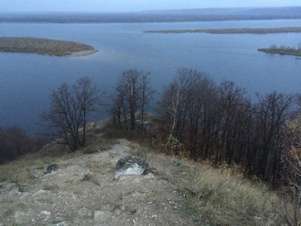 Гора у Волги