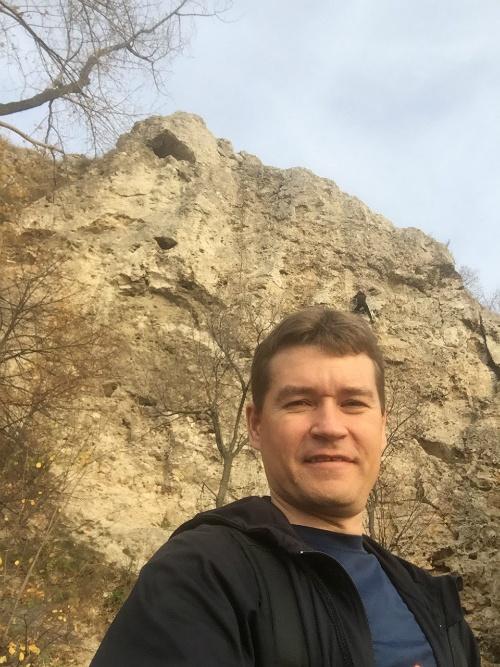 Скалолазы на самарских горах