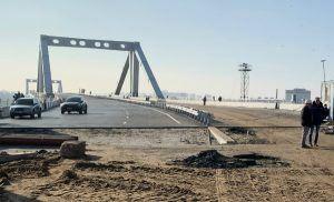 строительство моста через Самару