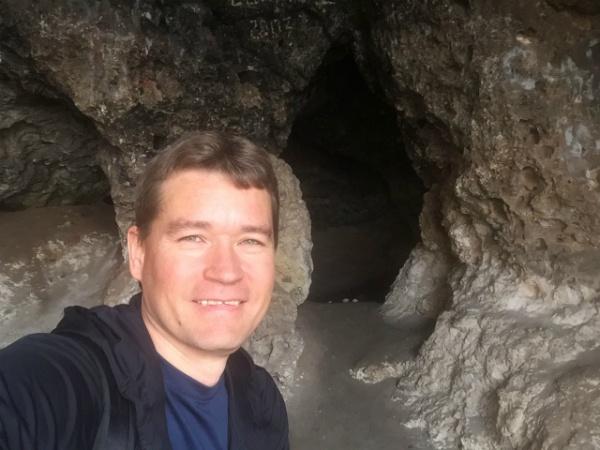 В пещере Братьев Греве