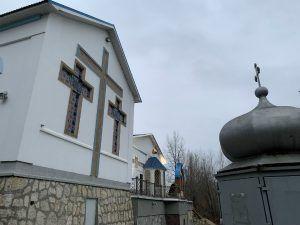Храм под Царевом курганом с Волги-2