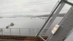 Мост железнодорожный через реку Сок