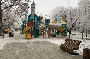 Самарский сквер Фадеева в декабре 2019