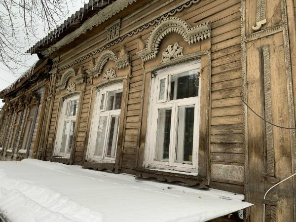 Деревянные дома Самары