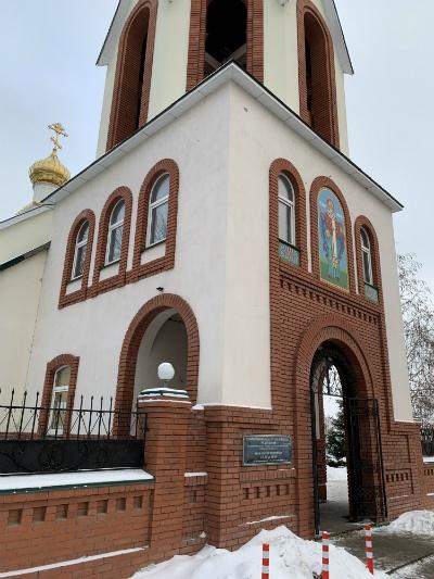 Храм на улице Карбышева в Самаре