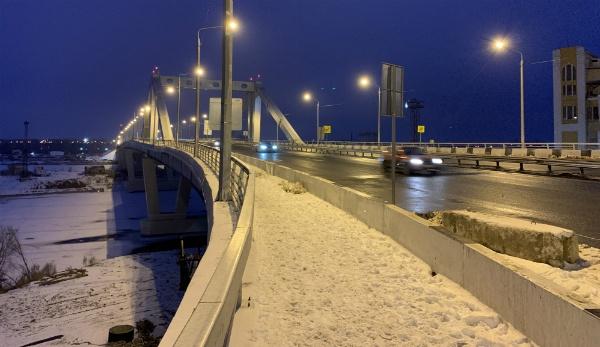Фрунзенский новый мост в Самаре