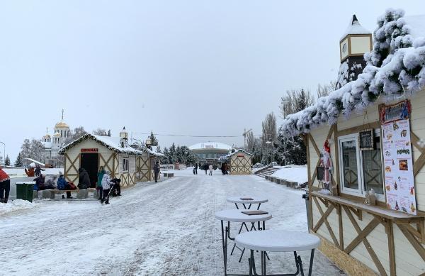 Площадь Самары в Самаре, январь