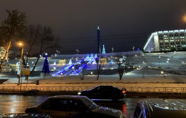 Самара в январе 2020