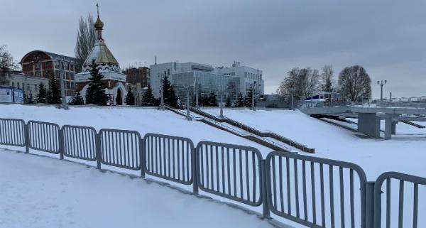 Самарская часовня на набережной Волги