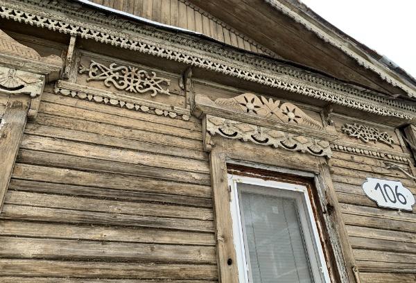 Старая деревянная Самара