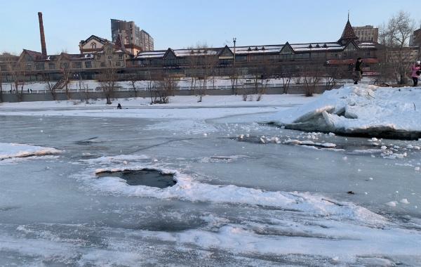 Лёд на Средней Волге