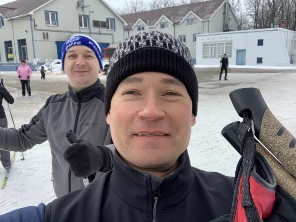 На лыжной базе Чайка в Самаре, 23 февраля