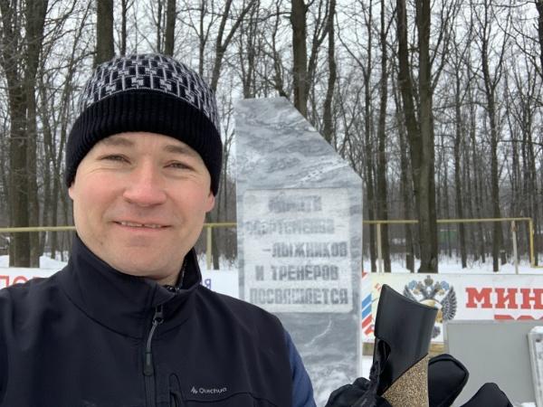 На самарской лыжной базе Чайка