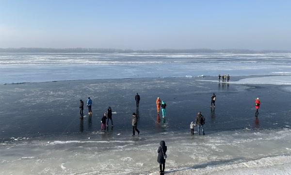 Волжский лёд, Самара