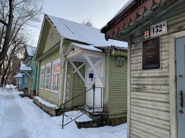 Деревянная Самара, улица Ленинская