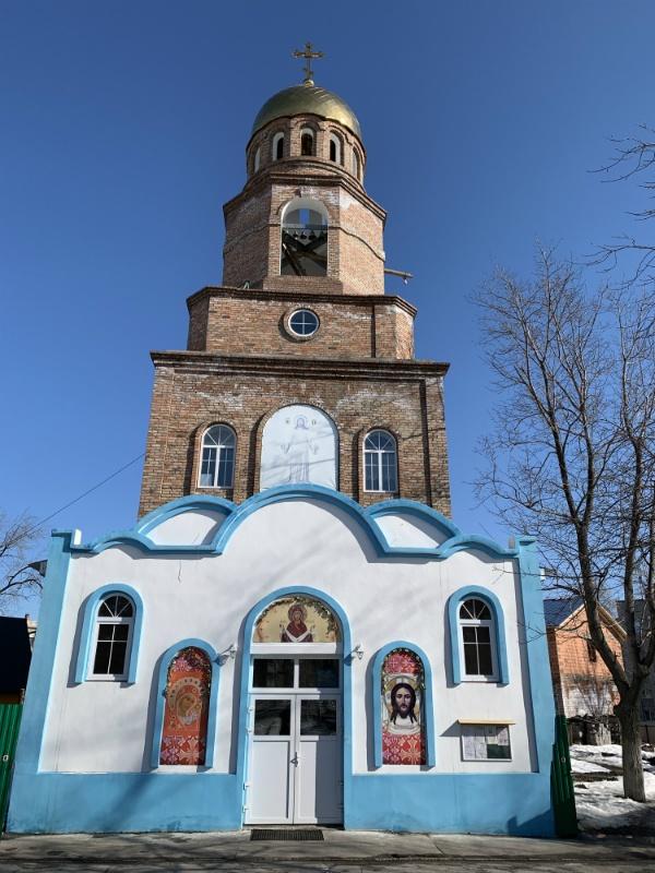Храм у завода Металлург, Самара