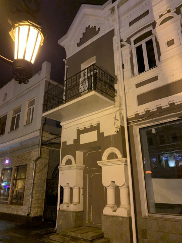 Фасад старого самарского дома