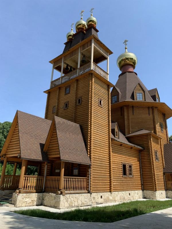 деревянная церковь Усолья