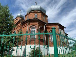 храм в селе Курумоч-7