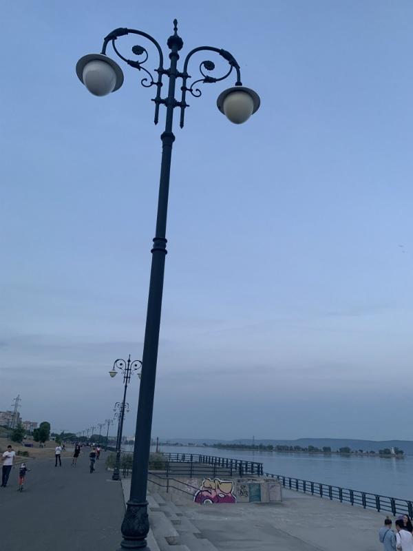 фонари тольяттинской набережной