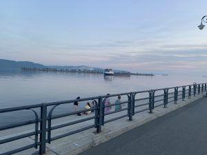 набережная Волга в Тольятти