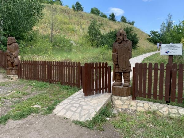 вход на Попову гору