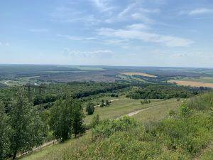 Вид с горы Светёлка