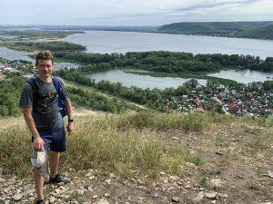 Волга с горы Тип-Тяв