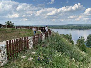 Волга, Попова гора в Ширяево