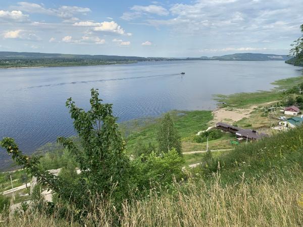 Волга в Ширяево
