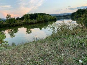 озеро за Царевщиной около Волги