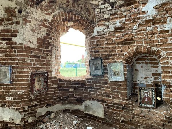 Храм 18 века в Осиновке