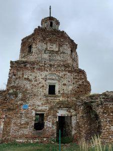 Старый храм 1714 года в селе Осиновка