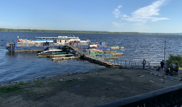 пристань Осипенко в Самаре