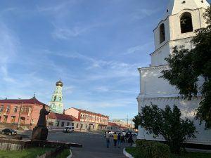 Сызрань, старая архитектура, у кремля