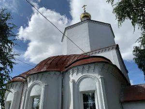 Сызрань, старая архитектура, храм 1717 год, кремль