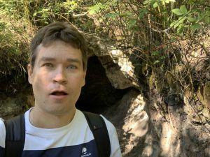 Ледяная пещера, Андрей Хвостов