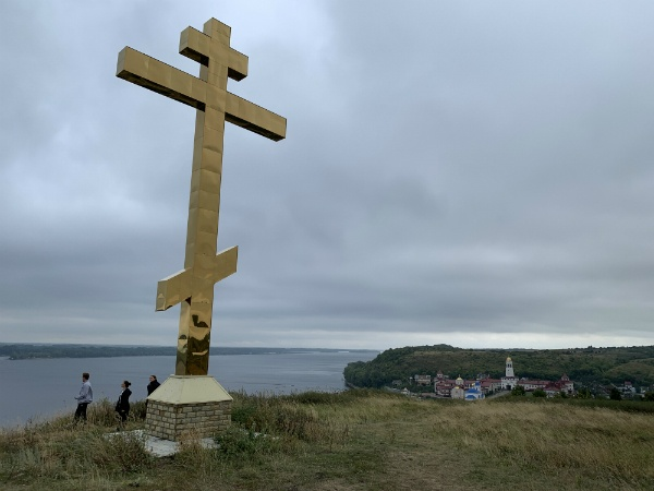 крест на горе, Самарская Лука