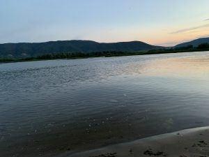 Волга, вид на Ширяево