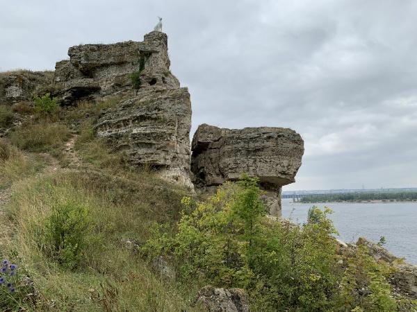 Жигулёвск, набережная Волги, гора Могутовая