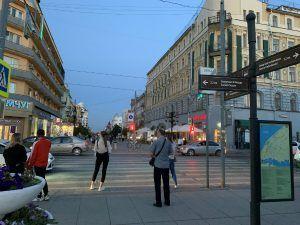 Улица Ленинградская в Самаре-2