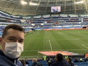 Андрей Хвостов, Самара-Арена