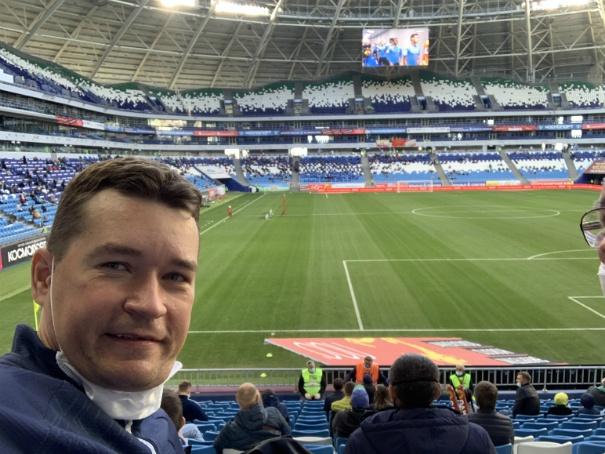 Самара-Арена, футбол в карантин