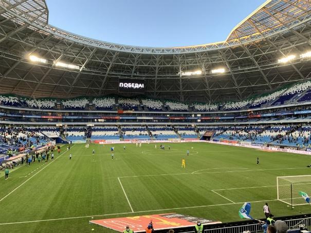 Самара-Арена, осенний футбол