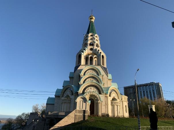 самарский октябрь, Храм у Ладьи