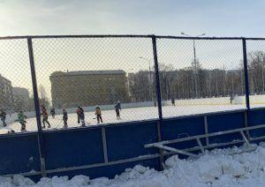 площадь Куйбышева в Самаре-3