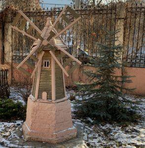 детская мельница около самарской школы