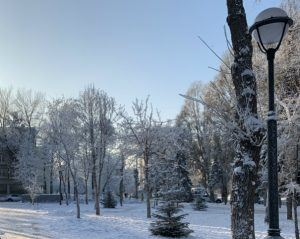 сквер Фадеева, Самара
